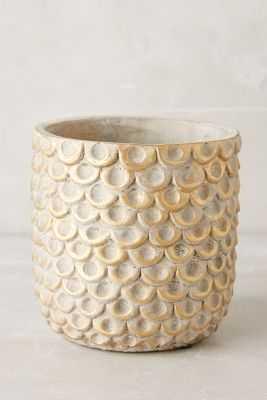 Gilded Scalloped Pot - Anthropologie