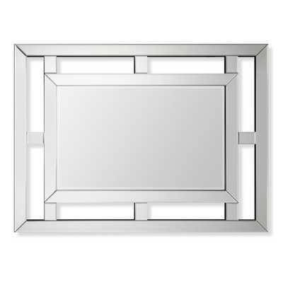 Pieced Fretwork Wall Mirror - Williams Sonoma Home