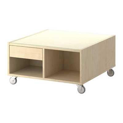 BOKSEL Coffee table, birch veneer - Ikea