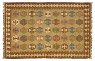 Agata Kilim Rug - One Kings Lane