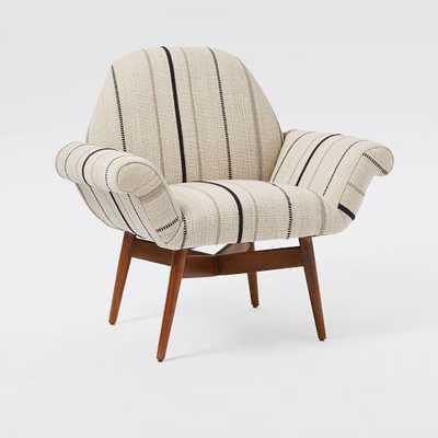 Orly Steven Alan Dhurrie Print  -Upholstered Chair - West Elm
