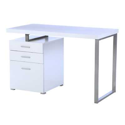 Pascua Writing Desk - White - Wayfair