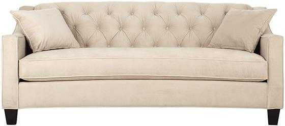 RIEMANN CURVED TUFTED SOFA - Home Decorators