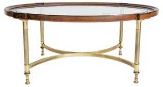 Oval Cockail Table by Brandt - One Kings Lane