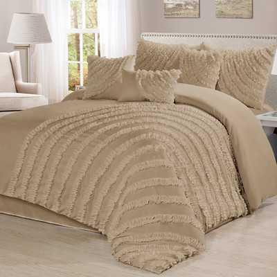 7 Piece Comforter Set, California King - Wayfair