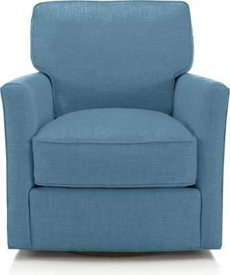 Talia Swivel Chair - Crate and Barrel