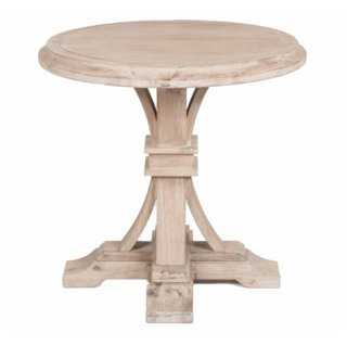 Geneva Round Side Table, Natural - One Kings Lane