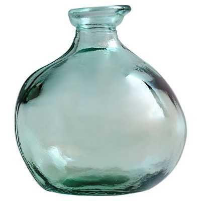 "Small Round Vase - Green - Thresholdâ""¢ - Target"
