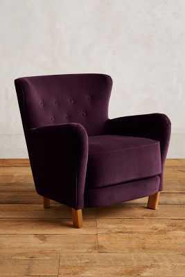 Velvet Hartwell Chair - Anthropologie