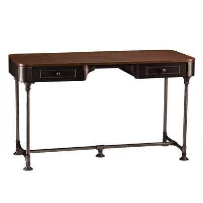 Upton Home Ezra Industrial 2-Drawer Desk - Overstock