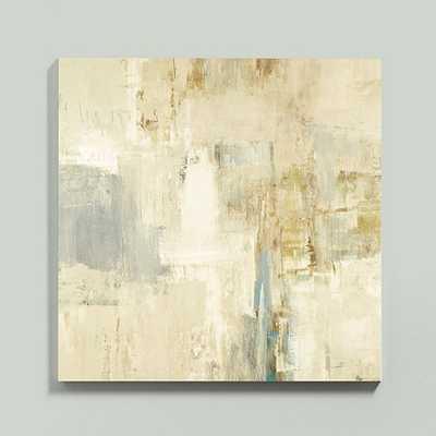 """Portal Glass Coat Canvas-30""""x30""""-Unframed - Ballard Designs"""