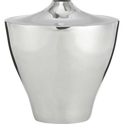 Zophie silver vase - CB2