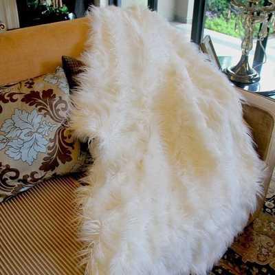 Lion Pile Faux Fur Throw Blanket - Wayfair