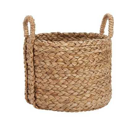 Beachcomber Seagrass Basket, Round - Pottery Barn