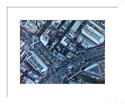 Bird's eye view - Framed - Photos.com by Getty Images