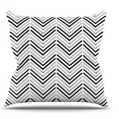 Distinct by CarolLynn Tice Throw Pillow-18x18-Polyester/Polyfill - AllModern