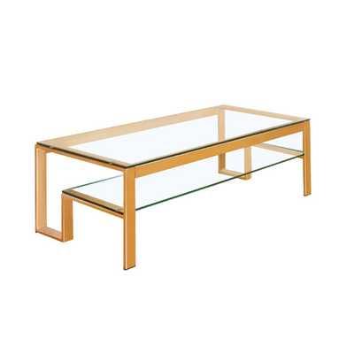 Scheider Stacked Shelf Coffee Table - AllModern