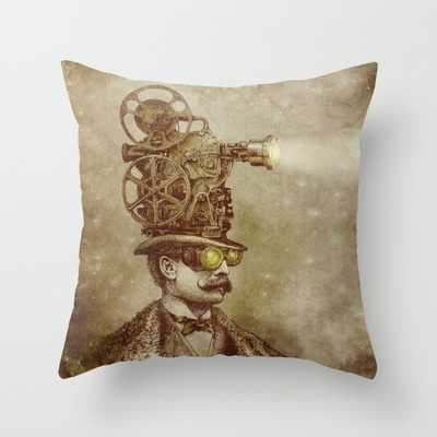 The Projectionist (sepia option) - Society6