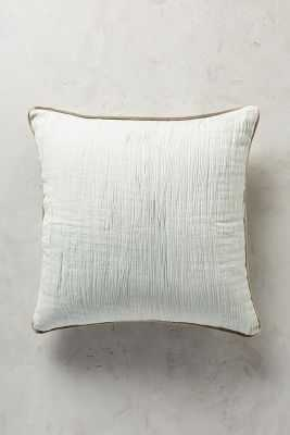 "Arrowwood Pillow - Mint - 18""Sq. - Polyfill - Anthropologie"