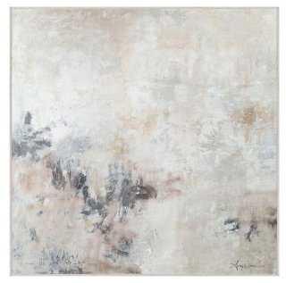 "Amy Donaldson, Trusting - 30.5"" x 30.5"" Framed (white) - One Kings Lane"