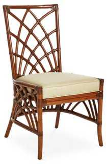 Cathedral Rattan Side Chair - One Kings Lane