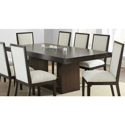 Greyson Living Amia Espresso Dining Table with Removable Leaf - Overstock