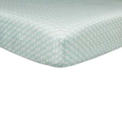 Babyletto Fleeting Flora Fitted Crib Sheet - Target
