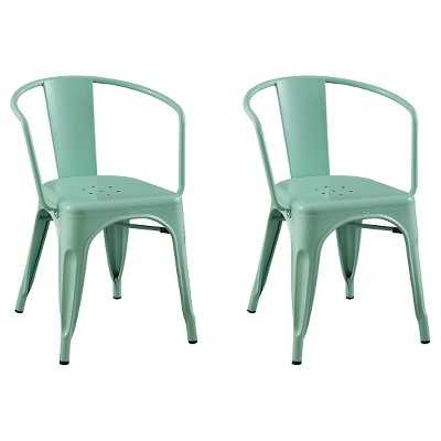 Carlisle Dining Chair - Set of 2 - Mint Green - Target