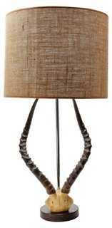 Antler Table Lamp, Natural - One Kings Lane