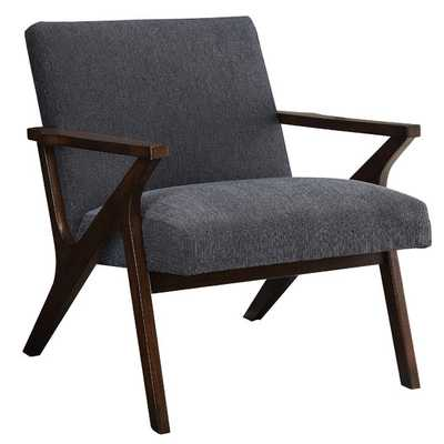 Upholstered Accent Arm Chair - Gray - AllModern