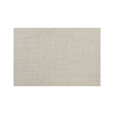 Sisal Linen Rug - Crate and Barrel