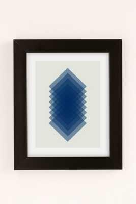 "Angela Ferrara Sky Slices Art Print - 13"" x 19"" - Framed - Urban Outfitters"