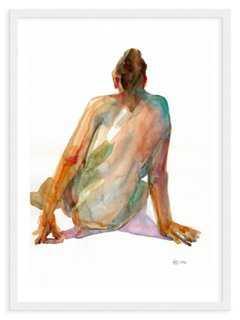 Helen Ström, Woman From Behind - 19x24 - Framed - One Kings Lane