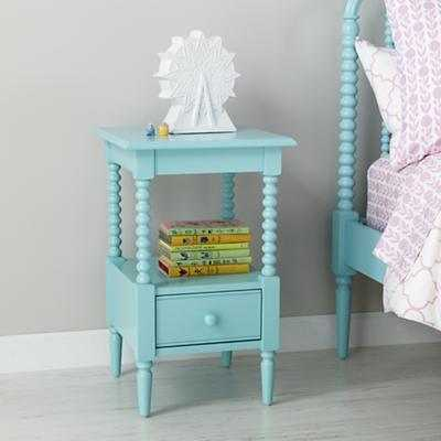 Jenny Lind Small Nightstand (Azure) - Land of Nod