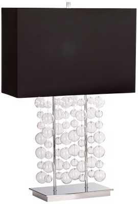 Possini Euro Design Bubble Cascade Table Lamp - Lamps Plus