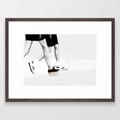"""FRAGMENT#2 Art Print - 20"""" x 26"""" - Conservation Walnut Frame - Society6"""