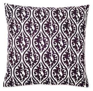 Ava 20x20 Cotton Pillow - One Kings Lane
