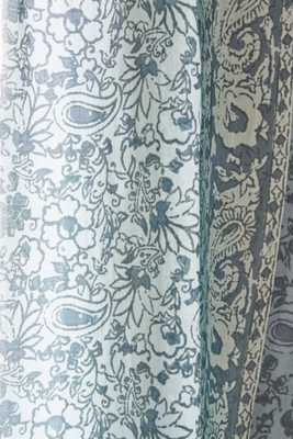 """Plum & Bow Melody Curtain-52""""X84""""-Teal - Urban Outfitters"""