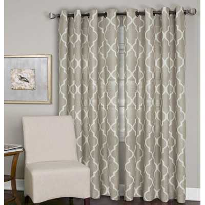 "Medalia Window Curtain Panel- 108"" L x 52"" W - Wayfair"
