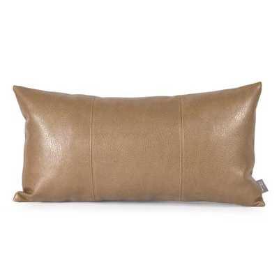 Avanti Bronze Kidney Decorative Pillow - Overstock