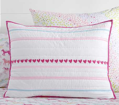 Quilted Standard Sham - Pottery Barn Kids