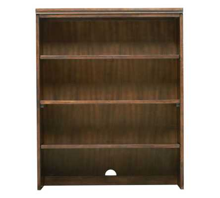 PRINTER'S DOUBLE BOOKCASE HUTCH, TUSCAN CHESTNUT STAIN - Pottery Barn