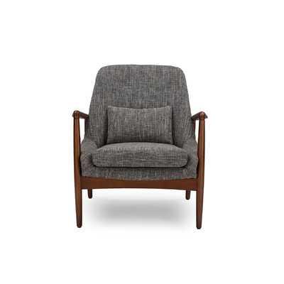 Carter Mid-Century Modern Upholstered Leisure Arm Chair - Wayfair