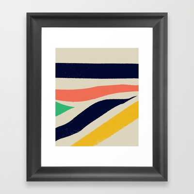 "Born In The North — Matthew Korbel-Bowers Art Print - 10"" x 12"" - Scoop Black Frame - Society6"