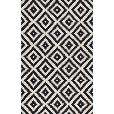 Kellee Black Area Rug - 5' x 8' - Wayfair