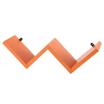 Origami Wall Shelf (Orange) - Land of Nod