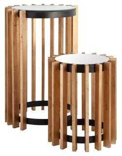 Honey Mackenzie Nesting Tables (Set of 2) - One Kings Lane