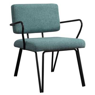 Palm Springs Aqua Upholstery Accent Chair - Overstock