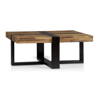 Seguro Square Coffee Table - Crate and Barrel