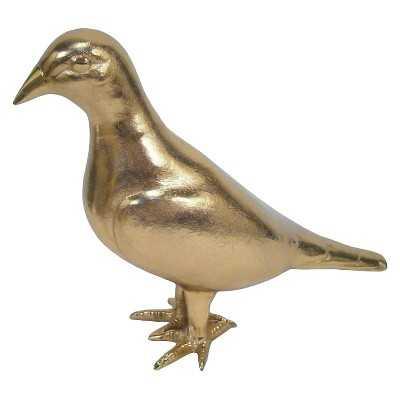 Pigeon Figurine Gold - Threshold - Target